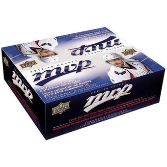2017/18 Upper Deck MVP Hockey 36-Pack Box