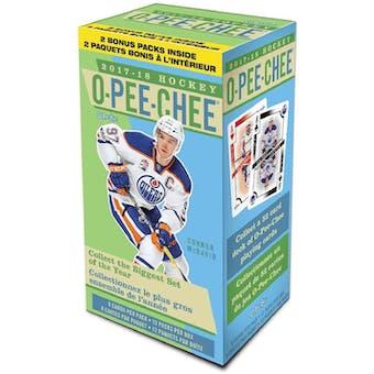 2017/18 Upper Deck O-Pee-Chee Hockey 12-Pack Blaster Box
