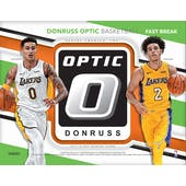 2017/18 Panini Donruss Optic Fast Break Basketball Pack