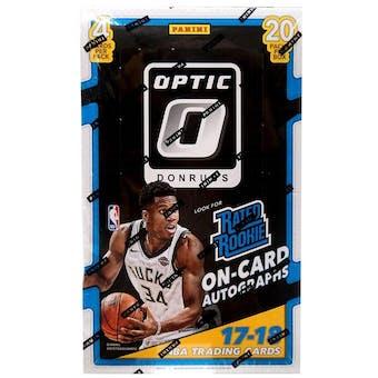 2017/18 Panini Donruss Optic Basketball 20-Pack Retail Box