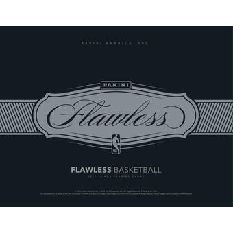 2017/18 Panini Flawless Basketball 2-Box Case- DACW Live 30 Spot Pick Your Team Break #1