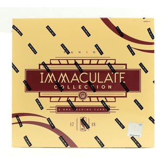 2017/18 Panini Immaculate Basketball 5-Box Case- DACW Live 30 Spot Pick Your Team Break #2