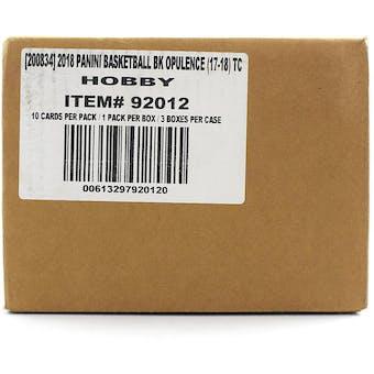 2017/18 Panini Opulence Basketball Hobby 3-Box Case