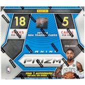 2017/18 Panini Prizm Fast Break Basketball Box