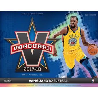 2017/18 Panini Vanguard Basketball Hobby 6-Box Case- DACW Live 30 Pick Your Team Break #1