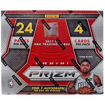 2017/18 Panini Prizm Basketball 24-Pack Box
