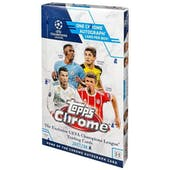 2017/18 Topps Chrome UEFA Champions League Soccer Hobby Box