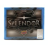 2017/18 Upper Deck Splendor Hockey Hobby Box