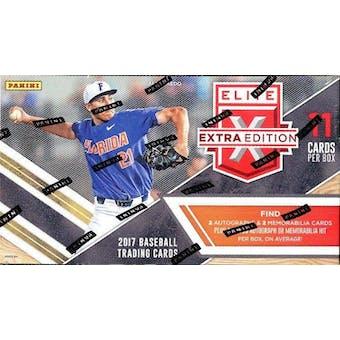 2017 Panini Elite Extra Edition Longevity Baseball Box