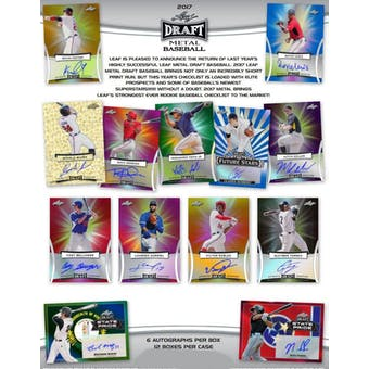 2017 Leaf Metal Draft Baseball Hobby Box