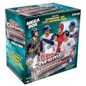 2017 Topps Chrome Update Baseball Mega Box