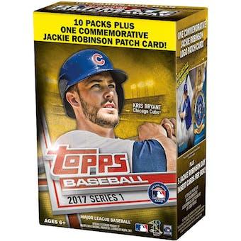 2017 Topps Series 1 Baseball 10-Pack Blaster Box