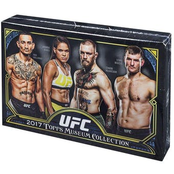 2017 Topps UFC Museum Collection 6-Box- DACW Live 18 Spot Random Hit Break #2