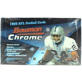 1998 Bowman Chrome Football Hobby Box (Reed Buy)