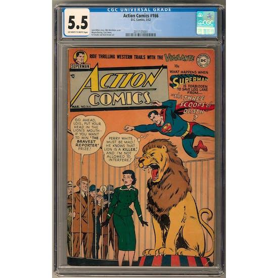 Action Comics #166 CGC 5.5 (OW-W) *2017135001*
