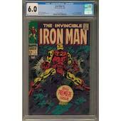 Iron Man #1 CGC 6.0 (OW-W) *2017135010*