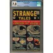 Strange Tales #96 CGC 7.0 (OW-W) *2017135014*