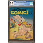 Walt Disney's Comics and Stories #32 CGC 7.0 (C-OW) *2017135015*