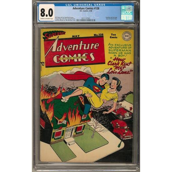 Adventure Comics #128 CGC 8.0 (C-OW) *2017137001*