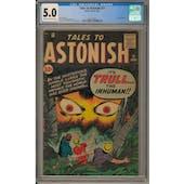 Tales to Astonish #21 CGC 5.0 (C-OW) *2017139001*