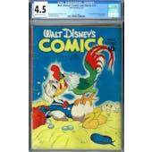 Walt Disney's Comics and Stories #19 CGC 4.5 (C-OW) *2017139009*