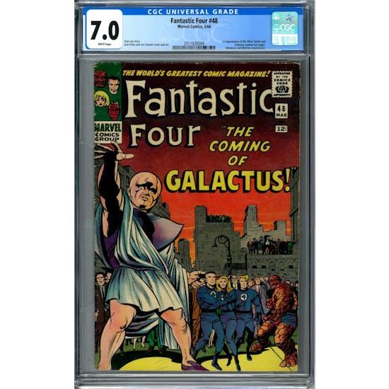 Fantastic Four #48 CGC 7.0 (W) *2017826008*