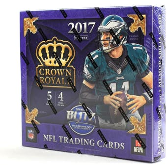 2017 Panini Crown Royale Football Ultra Box