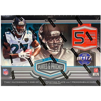 2017 Panini Plates and Patches Football Hobby Box