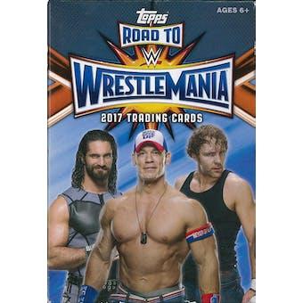 2017 Topps WWE Road to Wrestlemania Wrestling Hanger Box (Lot of 10)