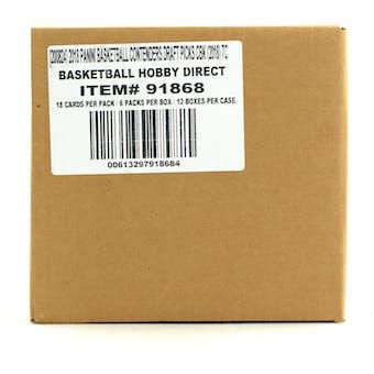 2018/19 Panini Contenders Draft Basketball Hobby 12-Box Case