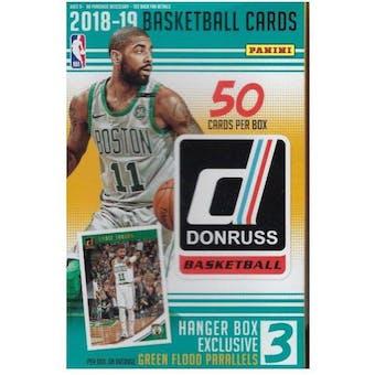 2018/19 Panini Donruss Basketball 50ct Hanger Box