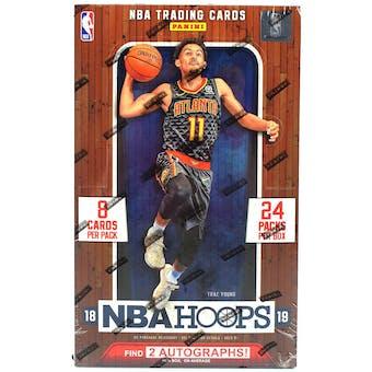 2018/19 Panini Hoops Basketball Hobby Box