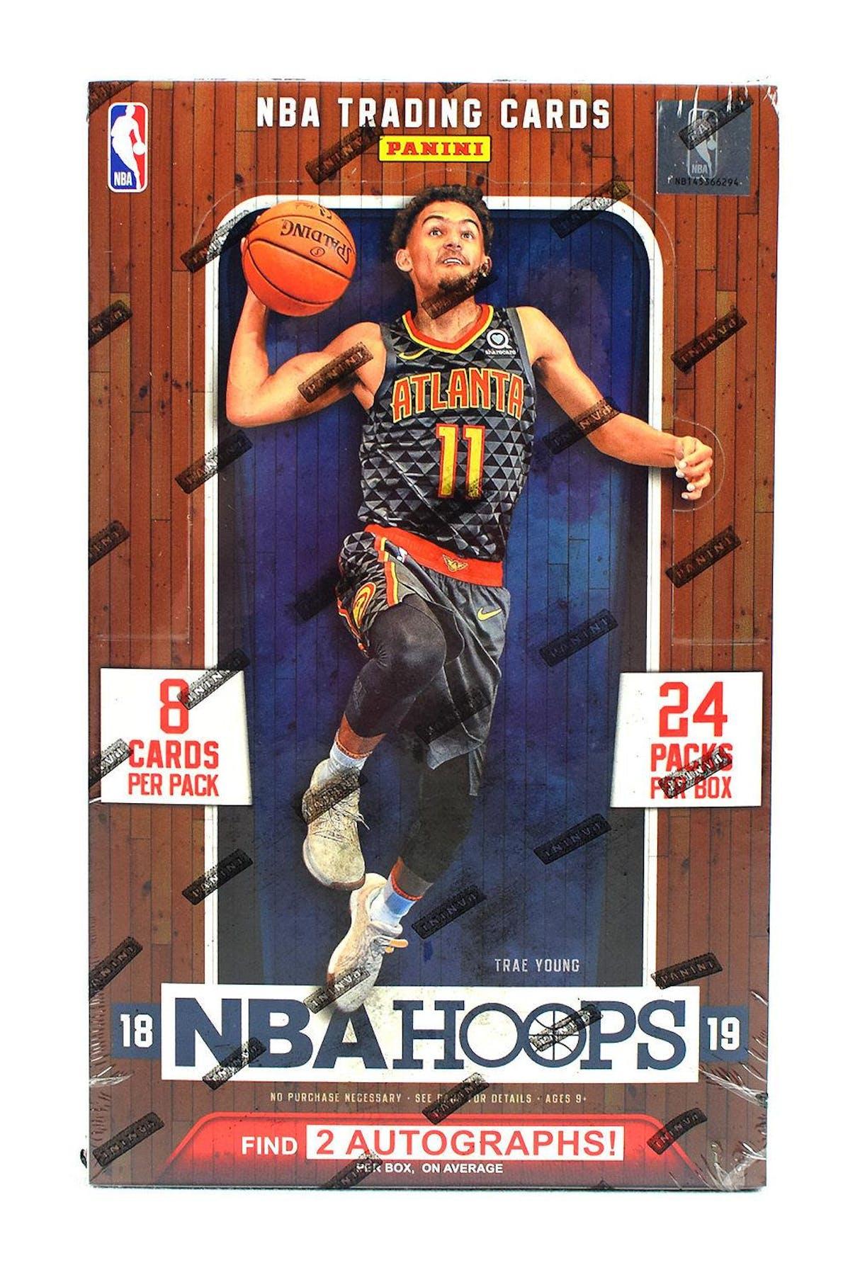 buy popular c3287 64091 2018/19 Panini Hoops Basketball Hobby Box