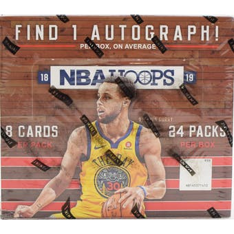 2018/19 Panini Hoops Basketball 24-Pack Retail Box