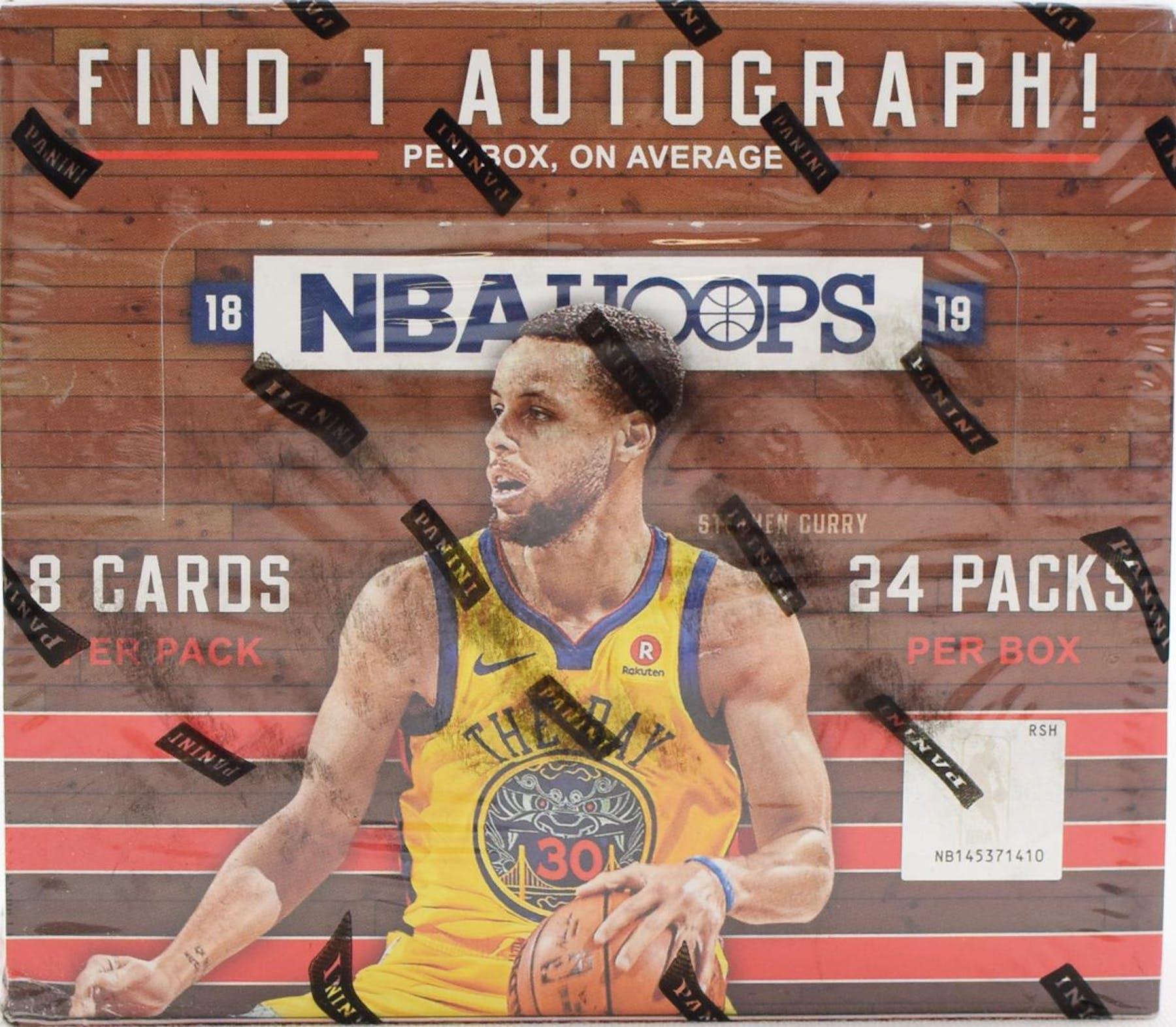 best loved 0fa58 a60b9 2018/19 Panini Hoops Basketball 24-Pack Box