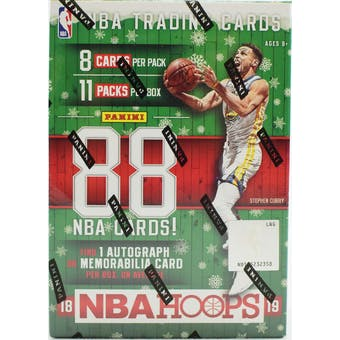 2018/19 Panini Hoops Holiday Basketball 11-Pack Blaster Box