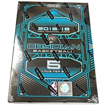 2018/19 Panini Obsidian Basketball Hobby Box