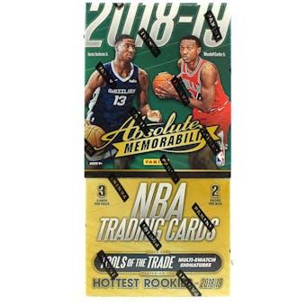 2018/19 Panini Absolute Memorabilia Basketball Hobby Box