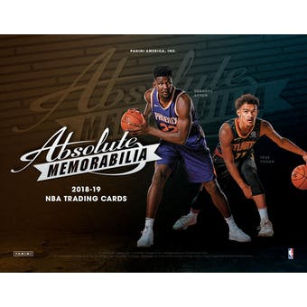 2018/19 Panini Absolute Memorabilia Basketball 10-Box Case- New Year 30 Spot Random Team Break #3