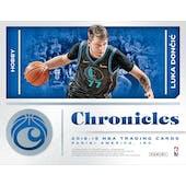 2018/19 Panini Chronicles Basketball Hobby Box (Presell)