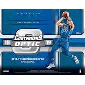 2018/19 Panini Contenders Optic Basketball Hobby 20-Box Case (Presell)