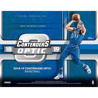 2018/19 Panini Contenders Optic Basketball Hobby Box (Presell)