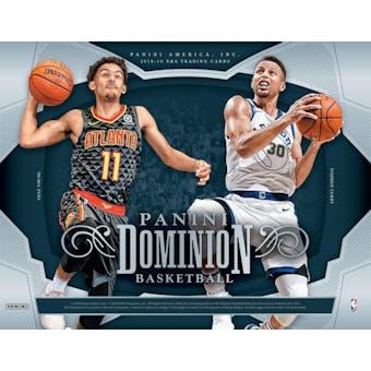 2018/19 Panini Dominion Basketball 6-Box Case- New Year 30 Spot Pick Your Team Break #1