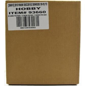 2018/19 Panini Donruss Soccer Hobby 12-Box Case