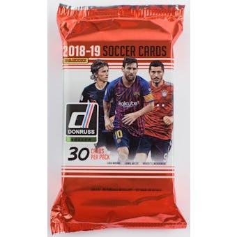 2018/19 Panini Donruss Soccer Hobby Pack