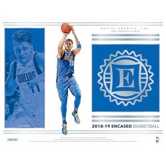 2018/19 Panini Encased Basketball Hobby Box (Presell)