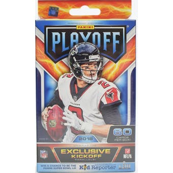 2018 Panini Playoff Football Hanger Box