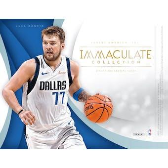 2018/19 Panini Immaculate Basketball 5-Box Case- DACW Live 30 Spot Pick Your Team Break #1