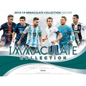 2018/19 Panini Immaculate Soccer 6-Box Case- DACW Live 10 Spot Random Serial Number Break #1