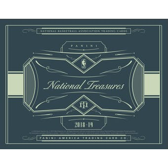2018/19 Panini National Treasures Basketball 4-Box Case- DACW Live 30 Spot Pick Your Team Break #1